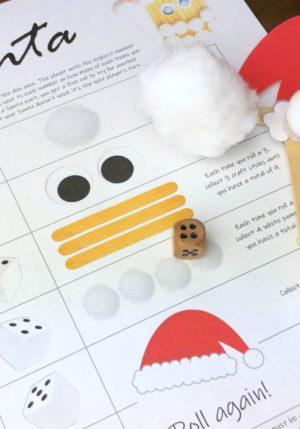 Roll-a-Santa game