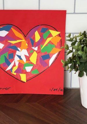Valentine Heart Mosaic