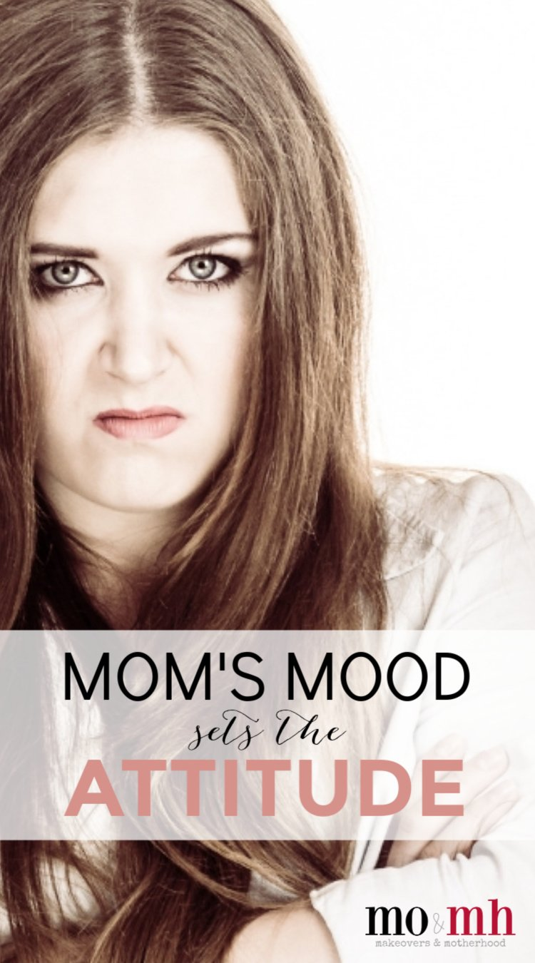 Grouchy grumpy mom Pinterest pinnable image