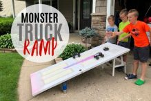 Monster Truck Door Ramp