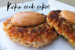 Crab Cakes with spicy dip