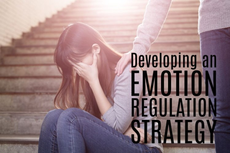 Anxiety-filled or depressed woman needing an emotion regulation strategy
