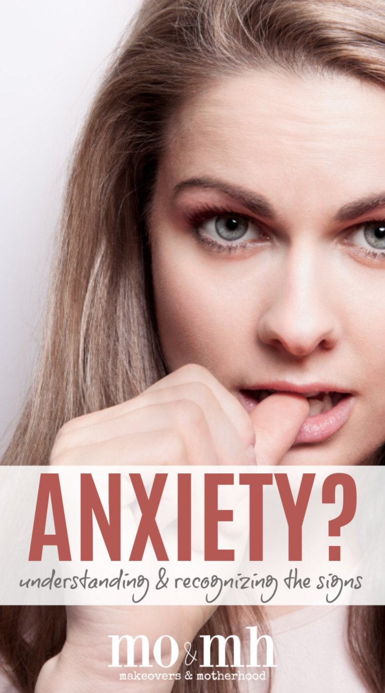 Recognizing signs of anxiety