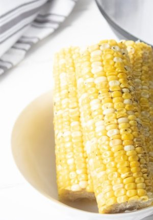 Instant Pot sweet corn on the cob